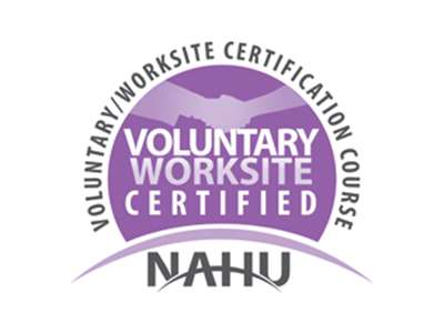 NAHU Voluntary Worksite Logo